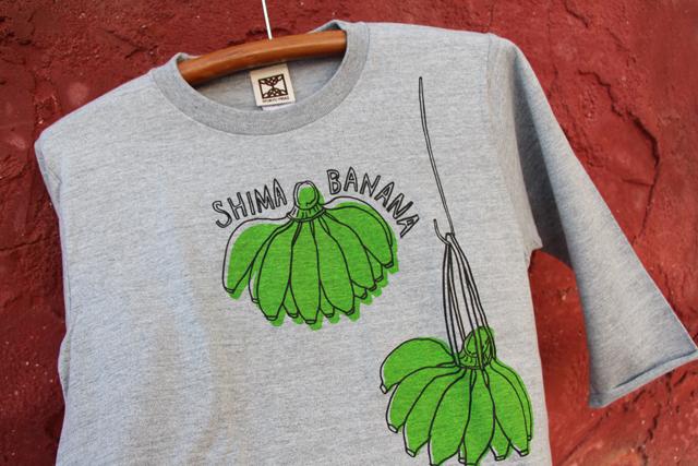 7分袖 島バナナ