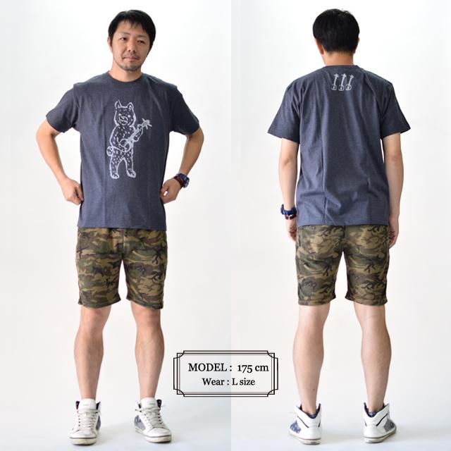 沖縄Tシャツ 赤犬子